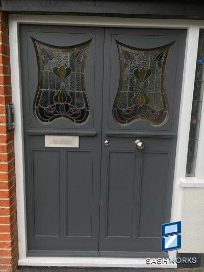 Georgian and Edwardian Front Doors