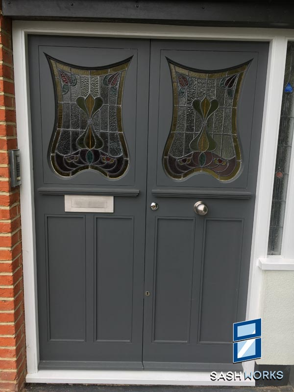 Georgian and Edwardian Front Doors