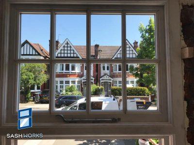 Sash window repairs in Palmers Green N13