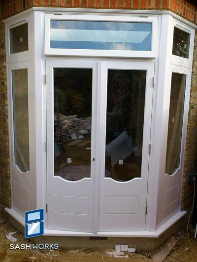Wooden patio door installations