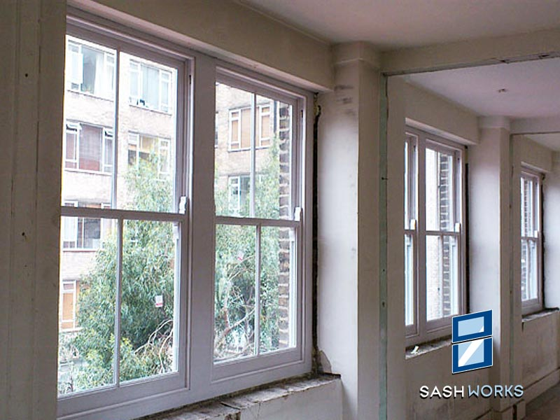 Replacement box sash windows North London