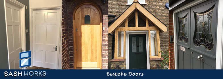 Replacement interior and exterior doors
