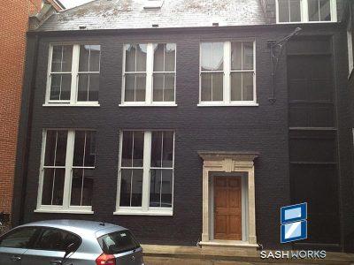 Replacement box sash windows Islington
