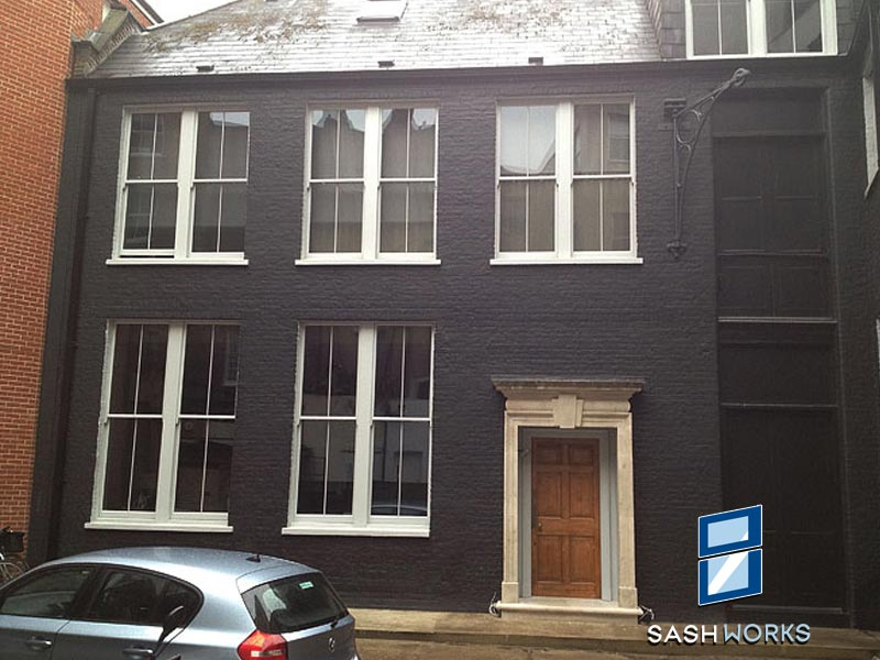Replacement box sash windows Islington