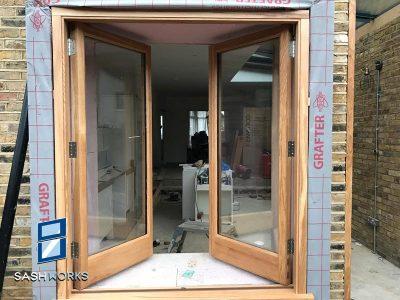 Replacement wooden casement windows